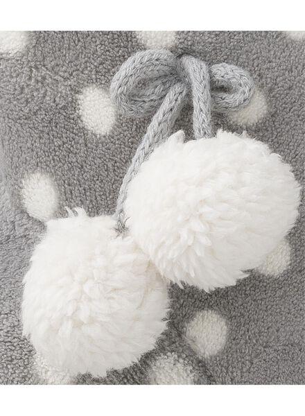 women's slippers grey grey - 1000006332 - hema