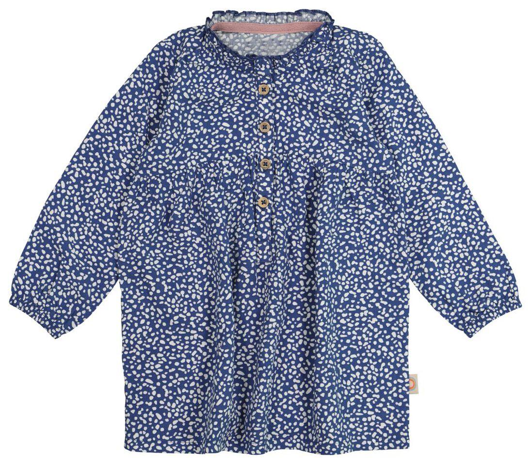 Baby-Kleid dunkelblau - HEMA