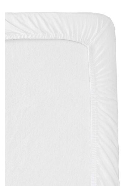 drap-housse jersey - split-topper blanc blanc - 1000013991 - HEMA