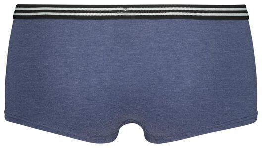 teen boxer cotton dark blue dark blue - 1000020272 - hema