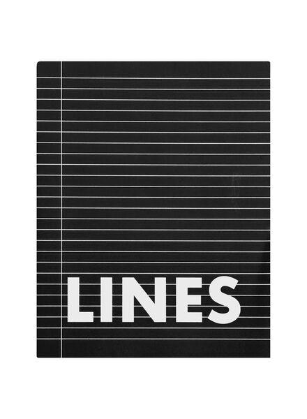 3er-Pack Hefte – 16.5 x 21 cm – liniert - 14101608 - HEMA
