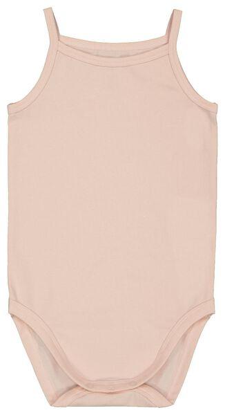 Body, Biobaumwolle, Stretch rosa rosa - 1000022880 - HEMA