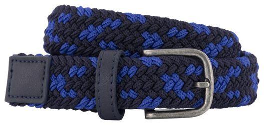 children's belt braided 2.5cm blue blue - 1000020508 - hema