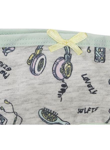 4-pack children's briefs grey melange grey melange - 1000006512 - hema