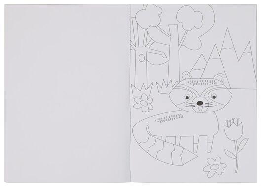 livre à colorier forêt - 15910148 - HEMA