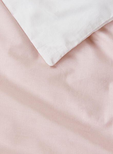 housse de couette-coton doux-200x200cm-rose rose 200 x 200 - 5700160 - HEMA