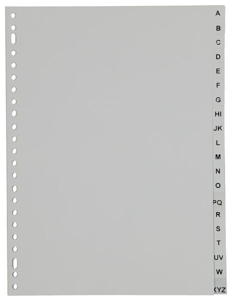 Image of HEMA 20 Subject Dividers A-Z