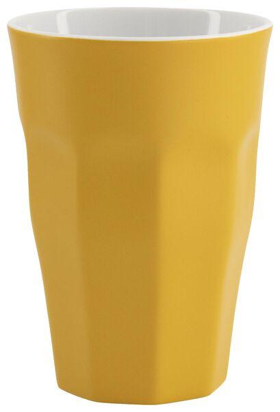 mug - 330 ml - Mirabeau matt - yellow - 9602213 - hema