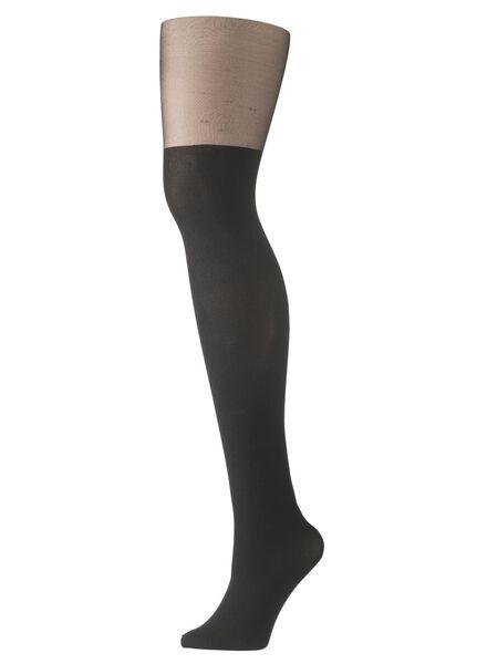 tights black black - 1000006849 - hema