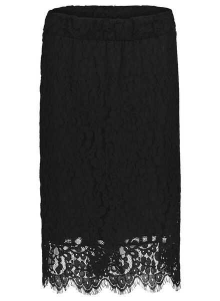 women's skirt black black - 1000017419 - hema
