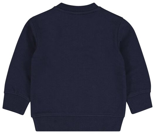 Baby-Sweatshirt blau blau - 1000024428 - HEMA