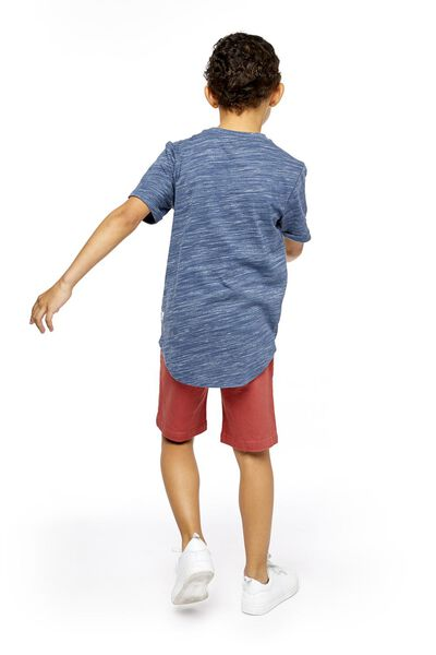 children's T-shirt dark blue dark blue - 1000018860 - hema