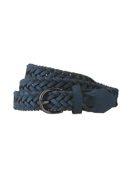 women's belt blue blue - 1000006463 - hema