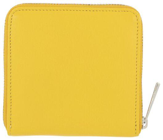 leather purse yellow - 18190018 - hema