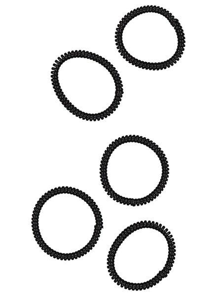 5élastiques spirales - 11870121 - HEMA