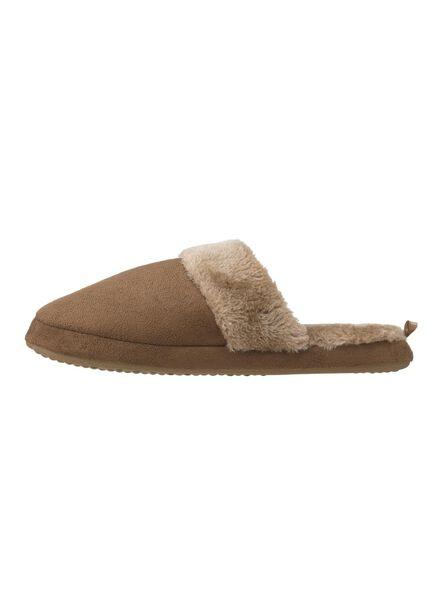 Hausschuhe - HEMA Damen Pantoffeln Beige  - Onlineshop HEMA