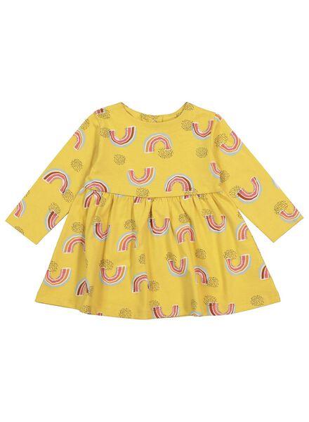 Babykleiderroecke - HEMA Baby Kleid Gelb - Onlineshop HEMA