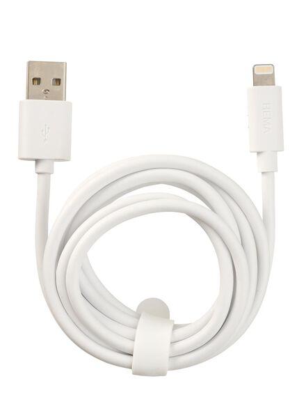 câble chargeur USB 8 broches - 39630046 - HEMA