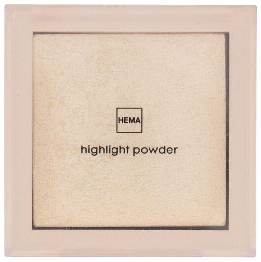 poudre illuminatrice sunset - 11290127 - HEMA