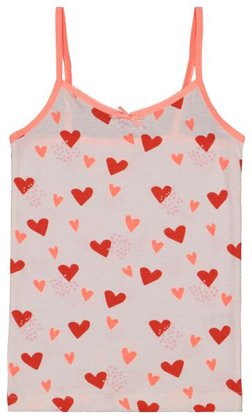 2-pack children's vests pink pink - 1000017798 - hema