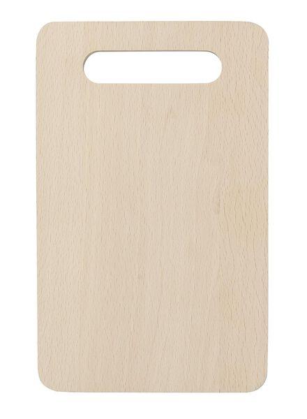 Schneidebrett, 24 x 15 cm, Holz - 80810064 - HEMA