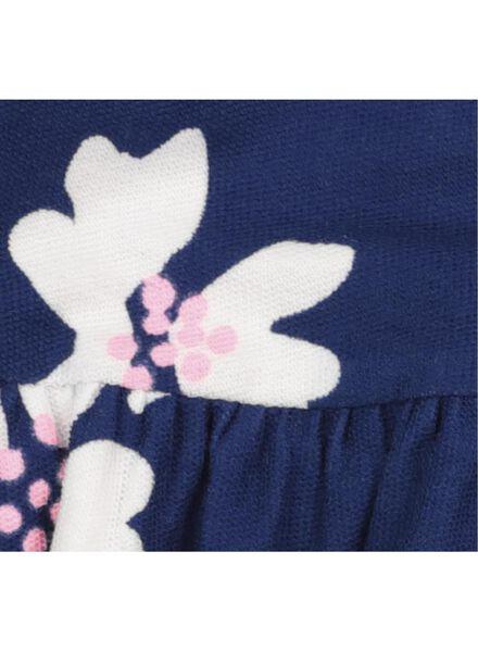 baby dress with leggings dark blue dark blue - 1000017454 - hema