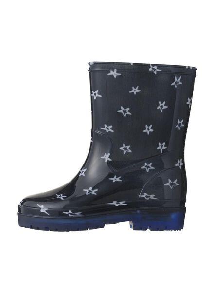 children's rain boots with lights blue blue - 1000006252 - hema