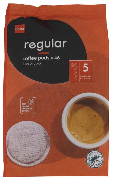 46 coffee pads regular - 17150001 - hema