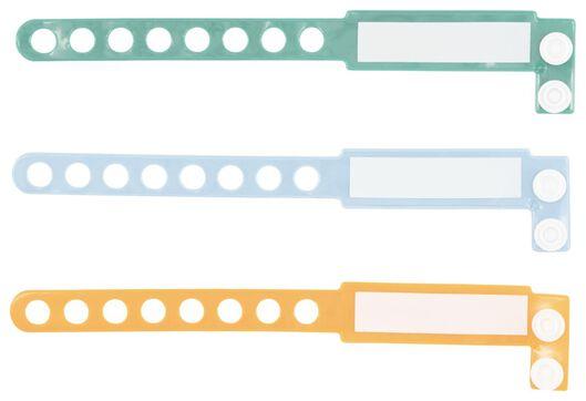 Babybademode - HEMA 3er Pack SOS Armbänder, 16 Cm - Onlineshop HEMA