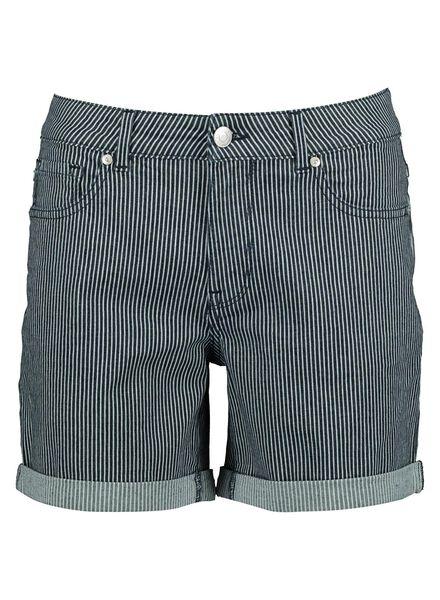Damen-Shorts mittelblau mittelblau - 1000013847 - HEMA