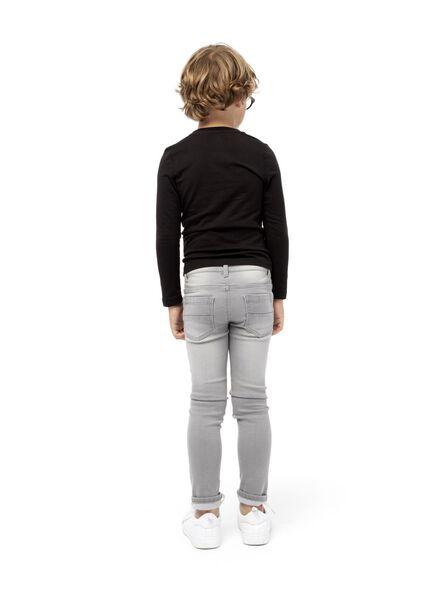 jog denim enfant gris gris - 1000003994 - HEMA