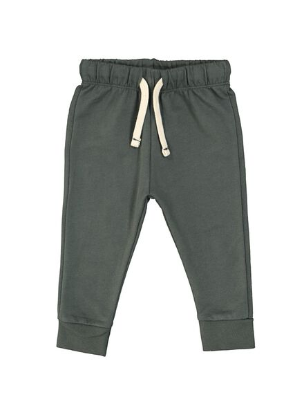 pantalon sweat bébé vert vert - 1000014707 - HEMA