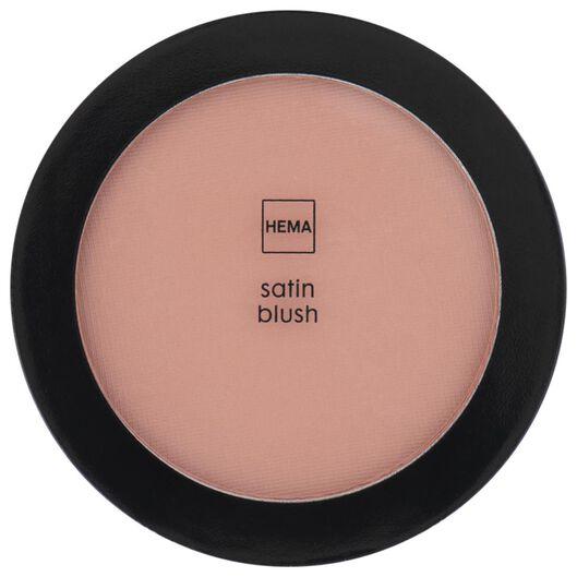 poudre blush satinée 37 coral crush - 11290137 - HEMA