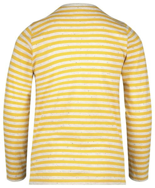Kinder-Shirt, Streifen gelb gelb - 1000020573 - HEMA