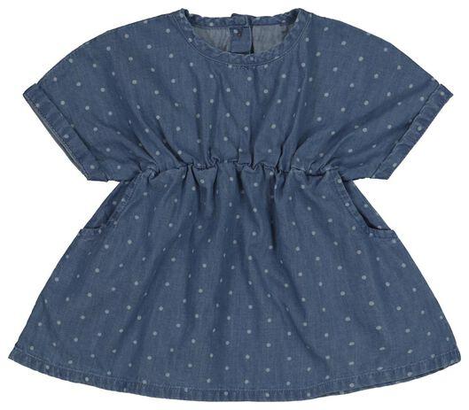 baby dress denim denim - 1000018810 - hema
