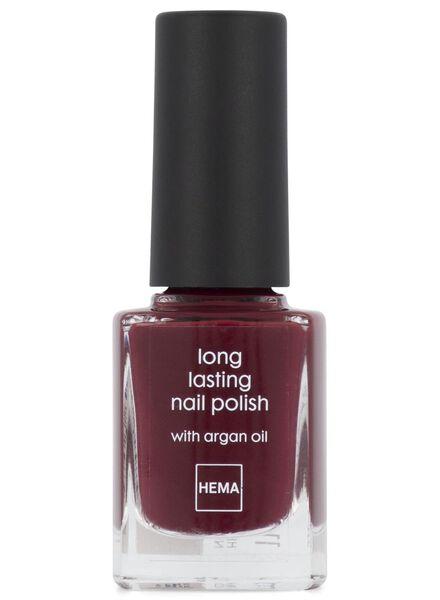long-lasting matt nail polish 67 fire in the sky - 11240167 - hema