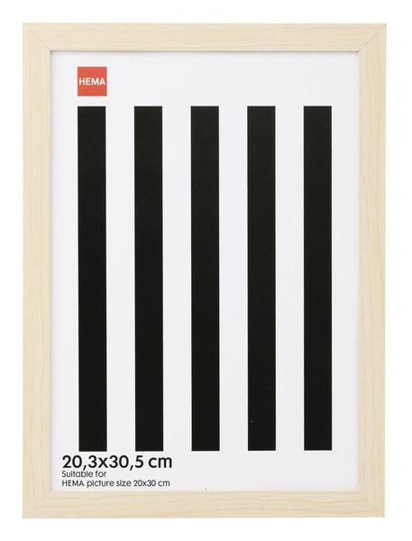 photo frame - wood 20.3 x 30.5 - 13680025 - hema