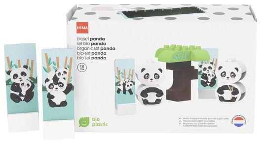 jeu de construction bio panda - 15120040 - HEMA