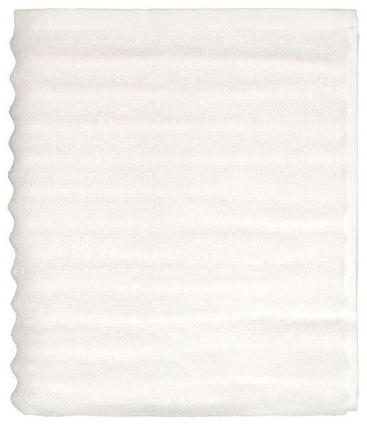 Badematte, 50 x 85 cm, Streifen, weiß - 5230047 - HEMA