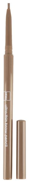 eyebrow pencil extra fine medium brown - 11214124 - hema
