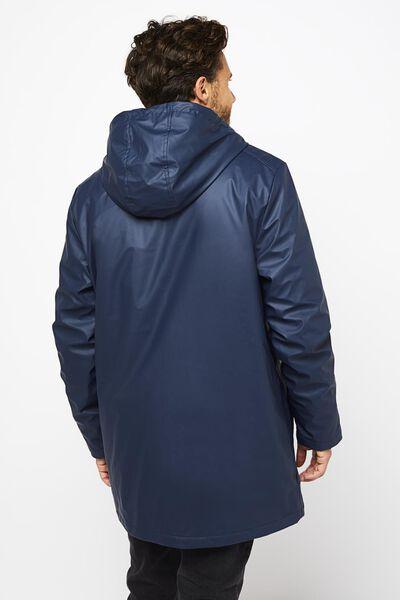 Herren-Jacke mit Kapuze dunkelblau dunkelblau - 1000020766 - HEMA