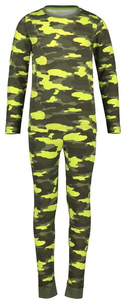 HEMA Pyjama Pour Enfant Camouflage Vert (vert)