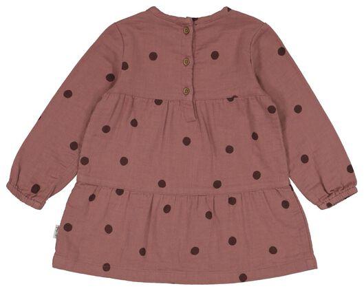 Baby-Kleid, Punkte rosa rosa - 1000022580 - HEMA