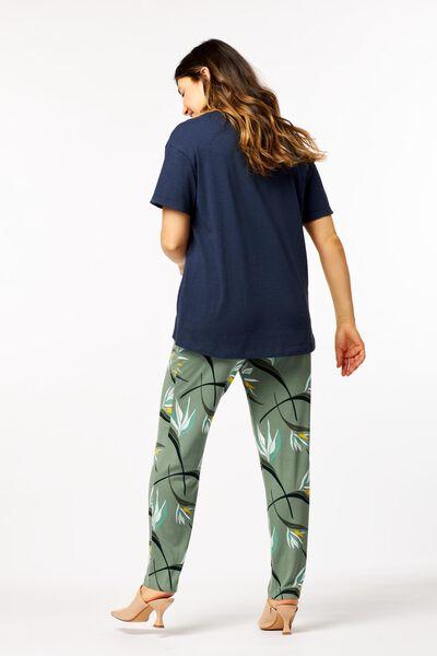 dames t-shirt blauw blauw - 1000023922 - HEMA