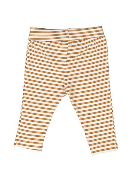 pantalon nouveau-né en bambou marron marron - 1000014048 - HEMA