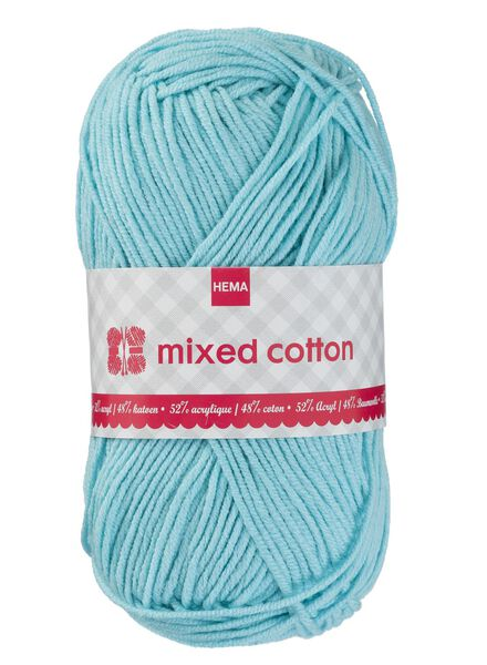 Strickgarn Mixed Cotton - blau - 1400159 - HEMA