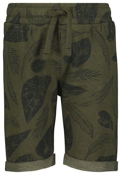 Kinder-Shorts graugrün graugrün - 1000023898 - HEMA