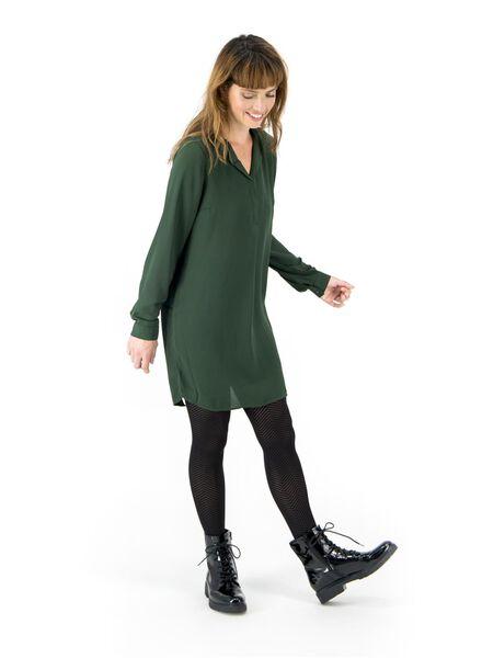 Damen-Bluse dunkelgrün dunkelgrün - 1000016799 - HEMA