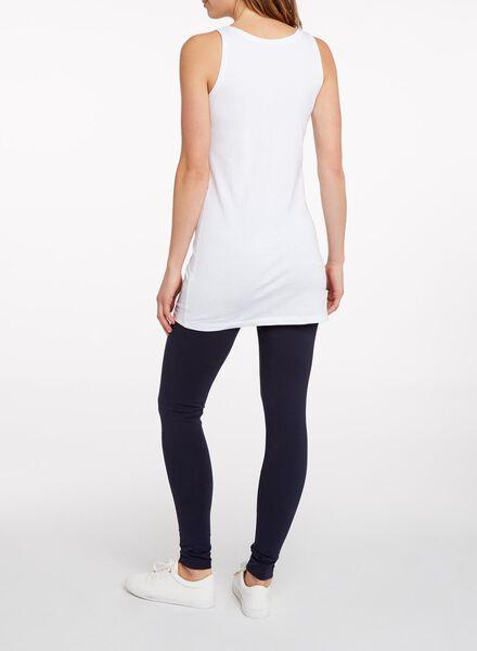 débardeur femme extra long blanc blanc - 1000005138 - HEMA