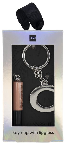 brillant à lèvres avec porte-clés lettre C - 11230142 - HEMA